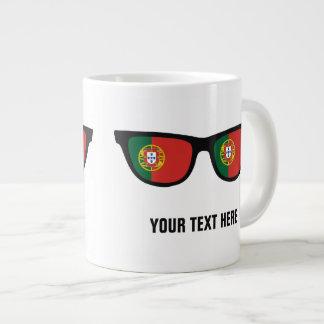 Portugese Shades custom mugs Jumbo Mug