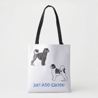 Portugese Water Dog Tote Bag