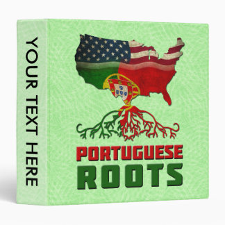 Portuguese American Roots Binder