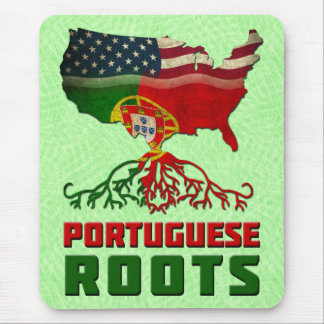 Portuguese American Roots Mousemat Mouse Pad
