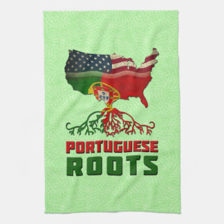 Portuguese American Roots Tea Towels