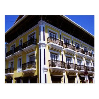 Portuguese Architecture in Goa India Postcard