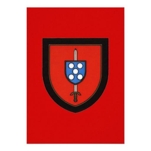 Portuguese Army Commandos Custom Invite