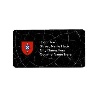 Portuguese Army Commandos Custom Address Labels