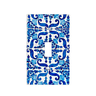 Portuguese Azulejo Light Switch Plate