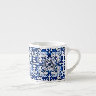 Portuguese Azulejo Pattern Espresso Cup
