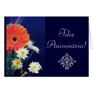 Portuguese: Birthday / Aniversario Card
