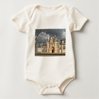 Portuguese castle baby bodysuit