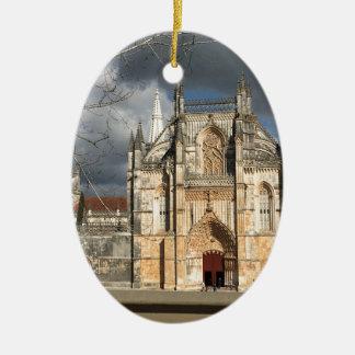 Portuguese castle ceramic ornament