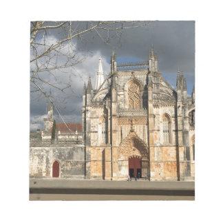 Portuguese castle notepad