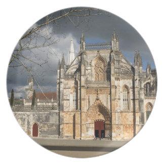 Portuguese castle plate