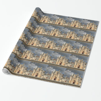 Portuguese castle wrapping paper
