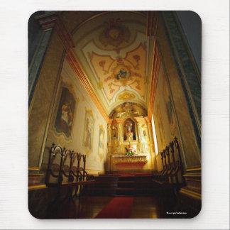 Portuguese catholic church mouse pad