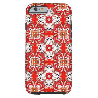 Portuguese Ceramic Tile Pattern Tough iPhone 6 Case