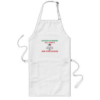 Portuguese Chefs Long Apron