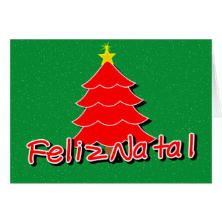 Portuguese Christmas Greeting Card