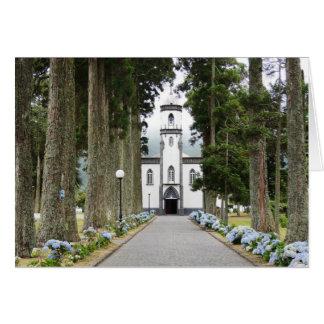 Portuguese Church Card
