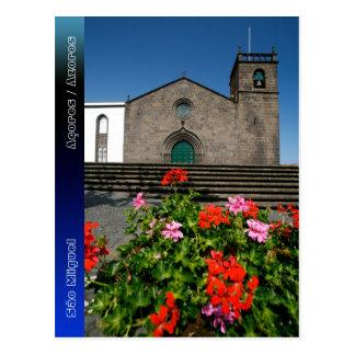 Portuguese church postcard