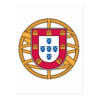 Portuguese Coat of Arms Postcard
