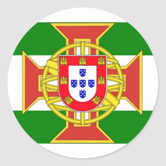 Portuguese Colony Governor General, Myanmar Classic Round Sticker