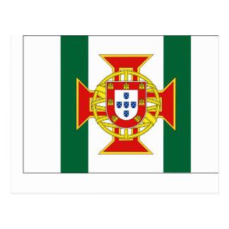 Portuguese Colony Governor, Portugal flag Postcard