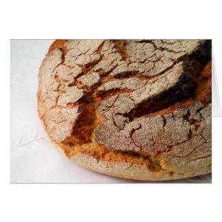 Portuguese corn bread greeting card