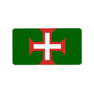 Portuguese Cross Return Mail Labels