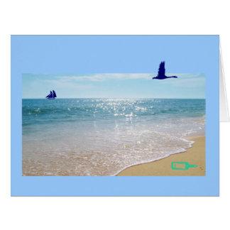 Portuguese: Dia do Pai- oceano / father's day Big Greeting Card