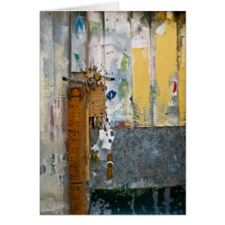 Portuguese Door - A Wash of Colors Greeting Card