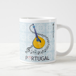 Portuguese Fado Guitar 20oz Coffee Mug