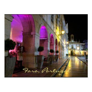 Portuguese: Faro, Portugal - Arco da Vila Postcard
