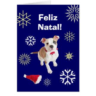 Portuguese: Feliz Natal! Merry Christmas! Card