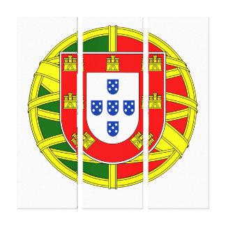 Portuguese flag canvas print
