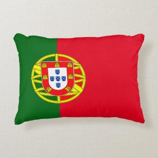 Portuguese flag decorative pillow