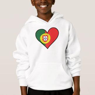 Portuguese Flag Heart