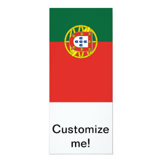 Portuguese Flag Custom Announcement