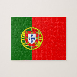 Portuguese Flag Jigsaw Puzzle