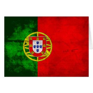Portuguese Flag Note Card