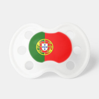 Portuguese flag of Portugal custom baby pacifier