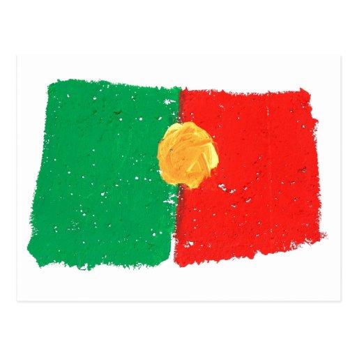 Portuguese Flag Postcards