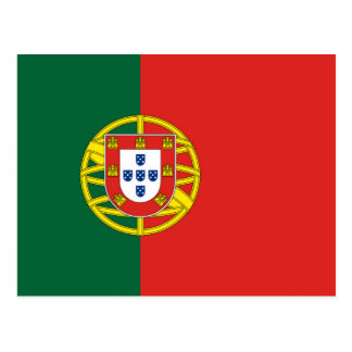 Portuguese Flag Postcard