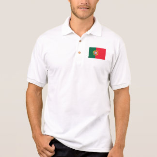 Portuguese flag quality polo shirt