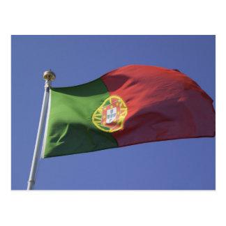 Portuguese Flag RF) Post Card
