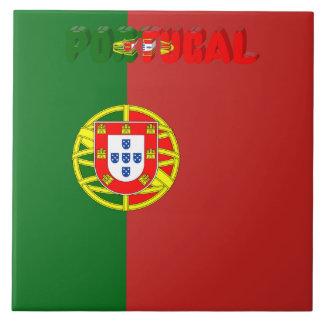 Portuguese flag tile