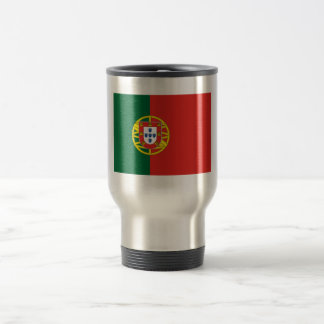 Portuguese flag travel mug