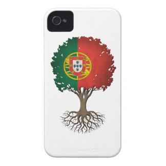 Portuguese Flag Tree of Life Customizable iPhone 4 Case