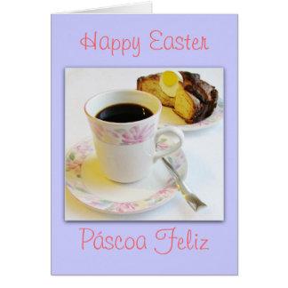 Portuguese: Folar de Páscoa/ Easter cake Greeting Card