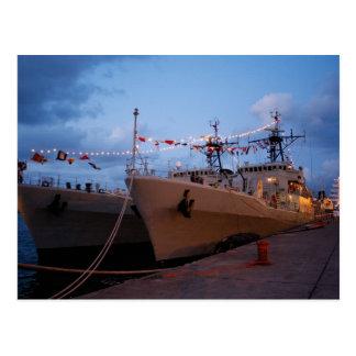 Portuguese frigates postcards