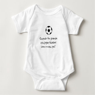 Portuguese: futebol soccer baby baby bodysuit