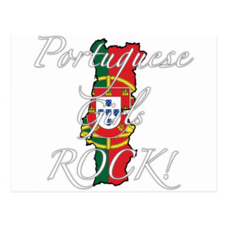 Portuguese Girls Rock! Post Cards